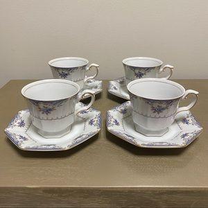 "Vintage Harmony House ""Versailles"" Teacup + Saucer"